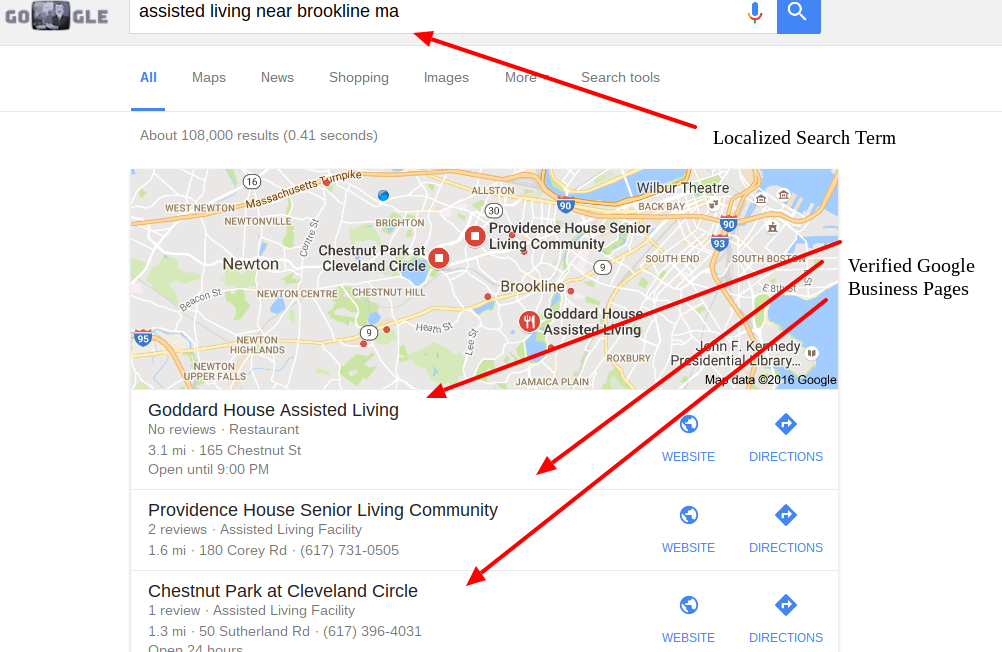 independent living SEO