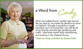 senior living content marketing